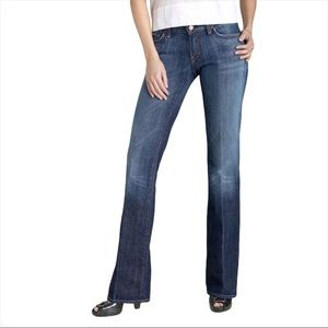 CITIZENS OF HUMANITY DITA PETITE BOOT CUT JEANS 25